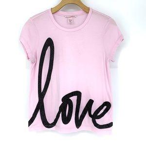 Victoria's Secret 'love' tee